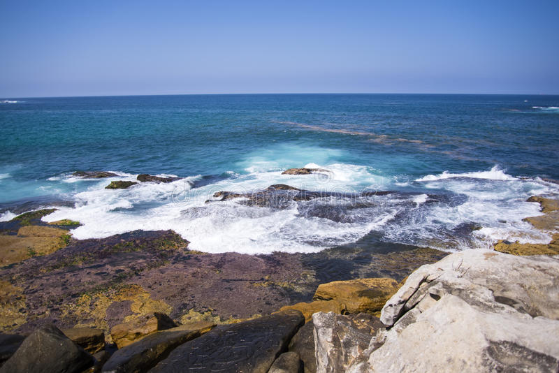 bondi παραλιών της Αυστραλία&sigma στοκ εικόνα με δικαίωμα ελεύθερης χρήσης