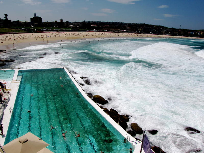 Bondi Beach, Iceberg Club royalty free stock image