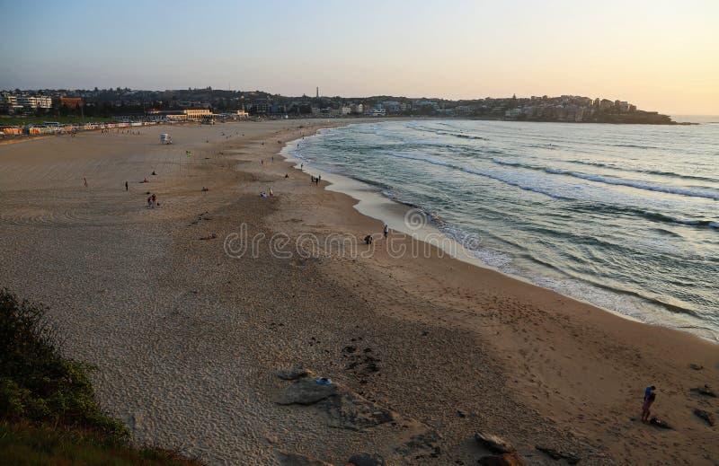 Bondi Beach at sunrise royalty free stock photos