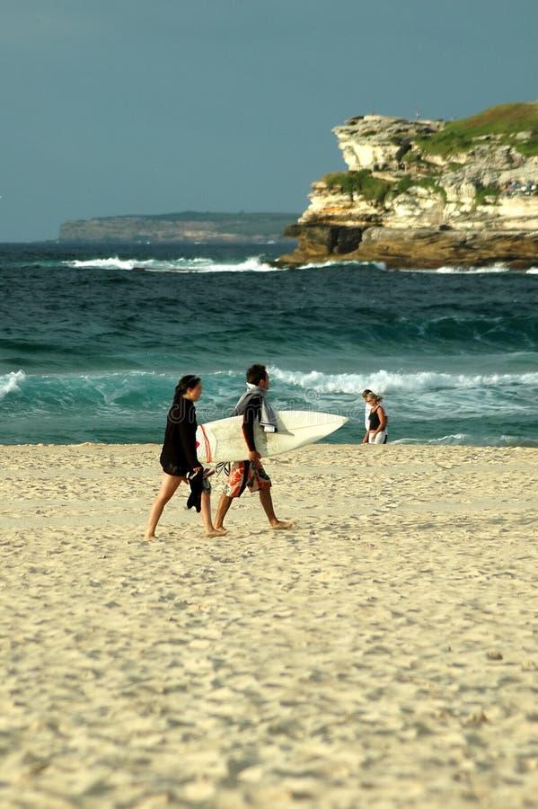 Bondi Beach Sydney royalty free stock photos