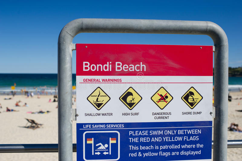 Bondi Beach Sydney stock photos