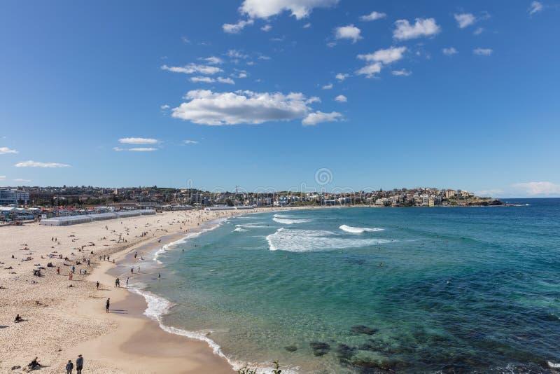 Bondi plaża w Sydney, Nowe południowe walie, Australia fotografia stock