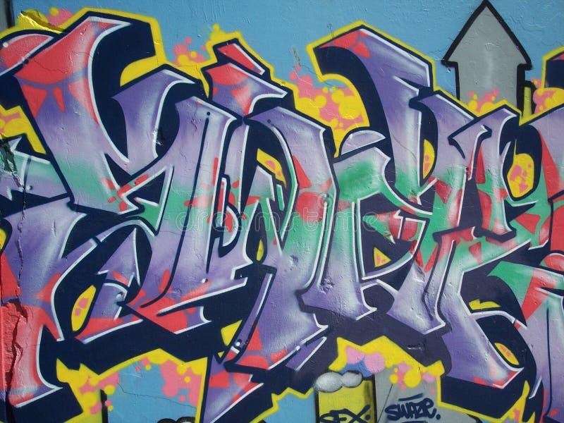 Bondi-Strand-Graffiti lizenzfreie stockbilder