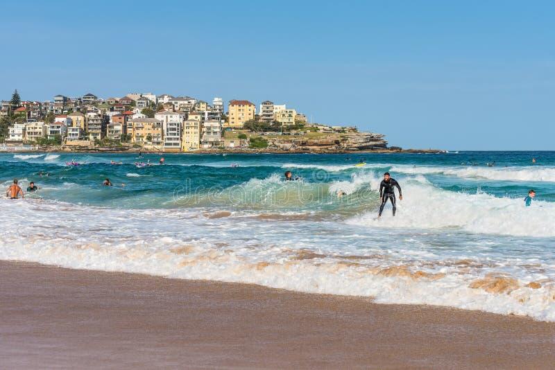 Bondi-Strand, New South Wales, Australien lizenzfreies stockfoto