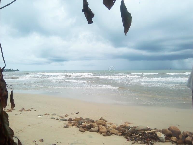 Bondo strand arkivfoton
