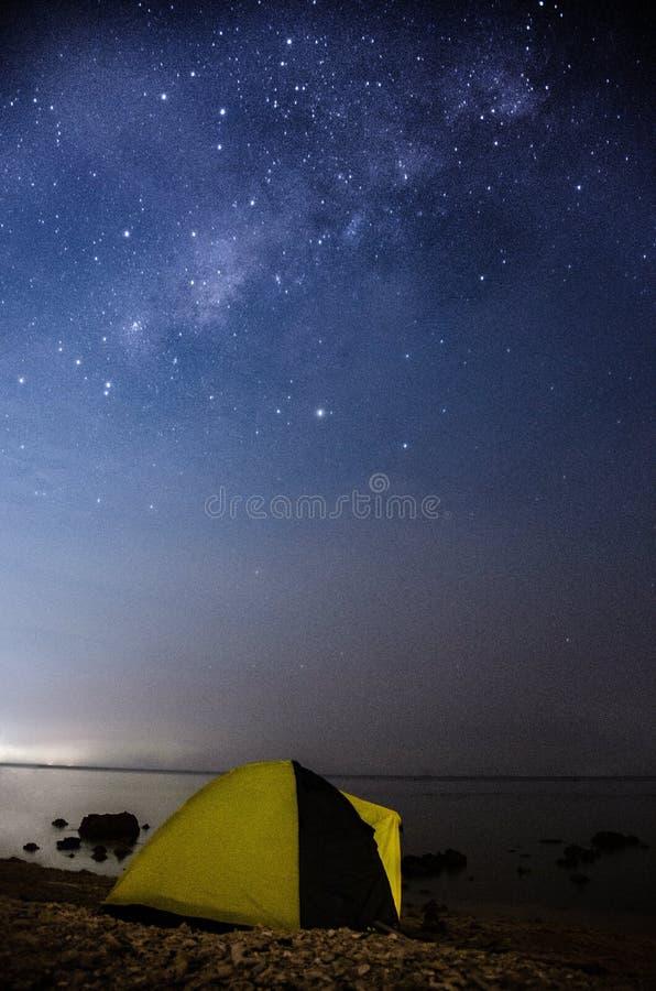 Bondo strand Jepara Indonesien royaltyfria foton