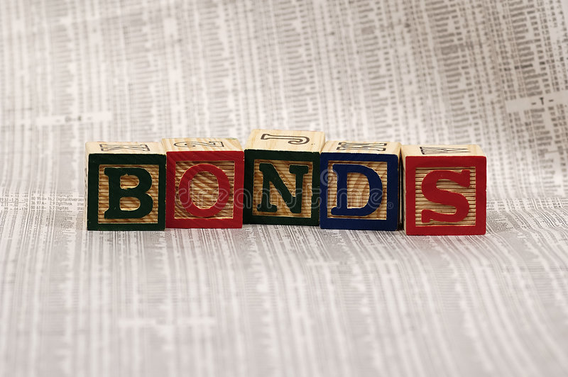 Bonds royalty free stock images