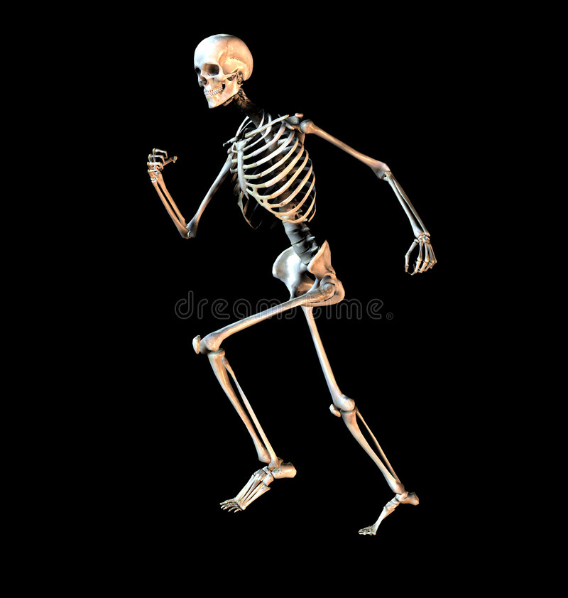 Download Bone 3 stock illustration. Illustration of frighten, hospital - 642467