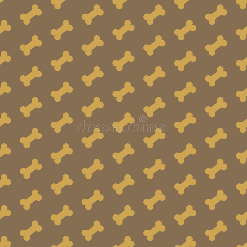 Bone For Dog Seamless Texture Stock Photos