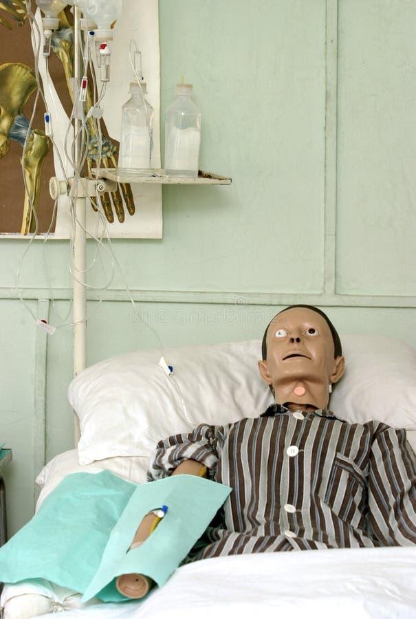 Boneca 1 do hospital imagem de stock royalty free