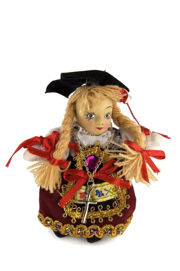 A boneca foto de stock