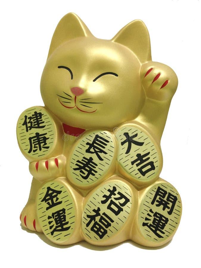 Boneca afortunada do gato foto de stock royalty free