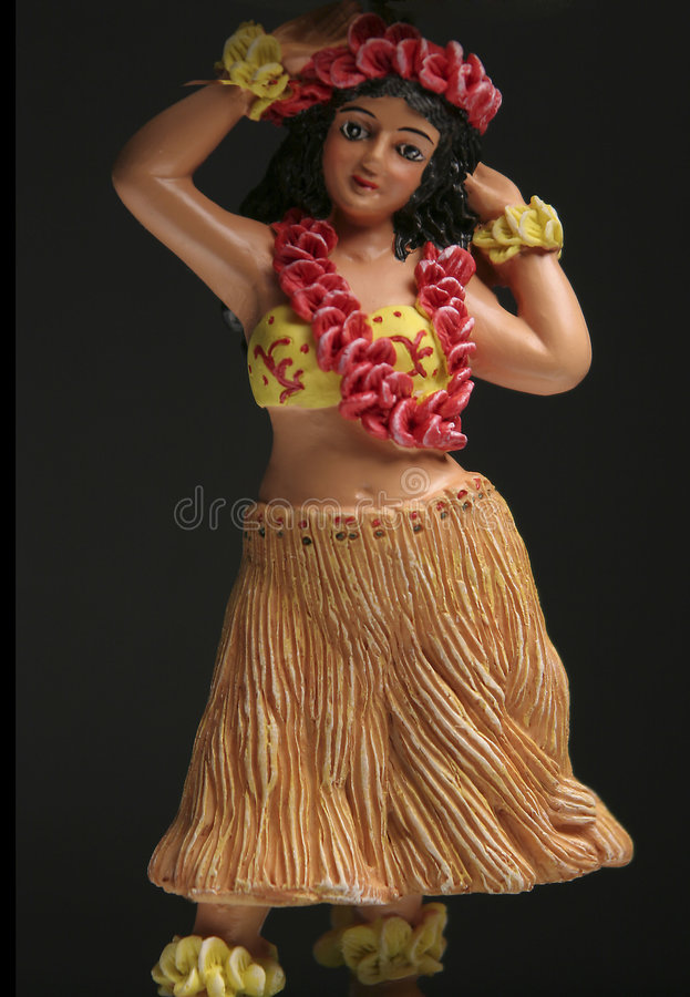 Boneca de Hula fotos de stock