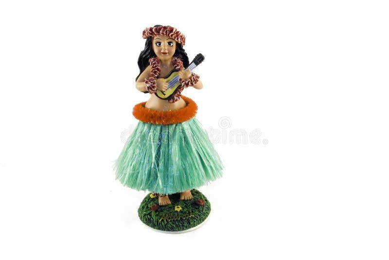 Boneca de Hula fotografia de stock