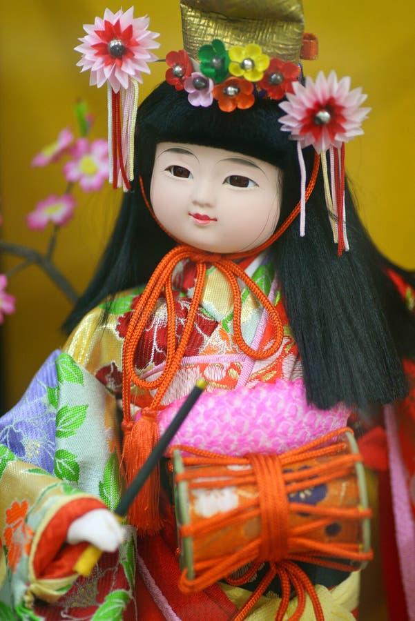 Boneca de Japão imagens de stock royalty free