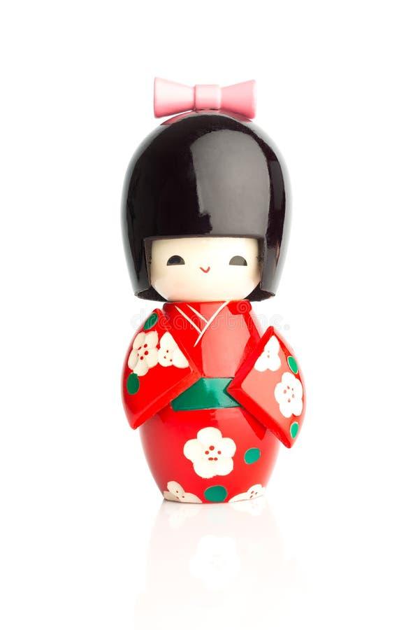 Boneca de Kokeshi fotos de stock