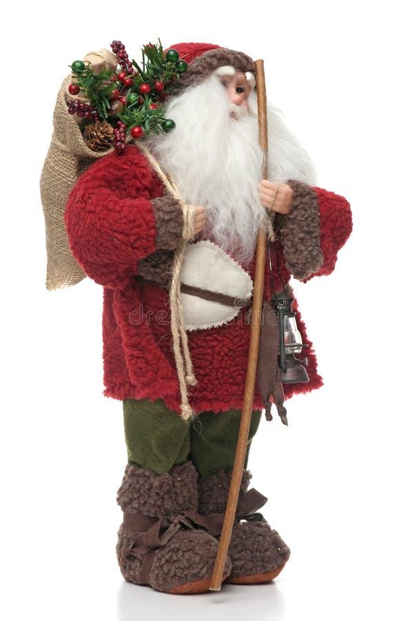Boneca de Papai Noel fotos de stock