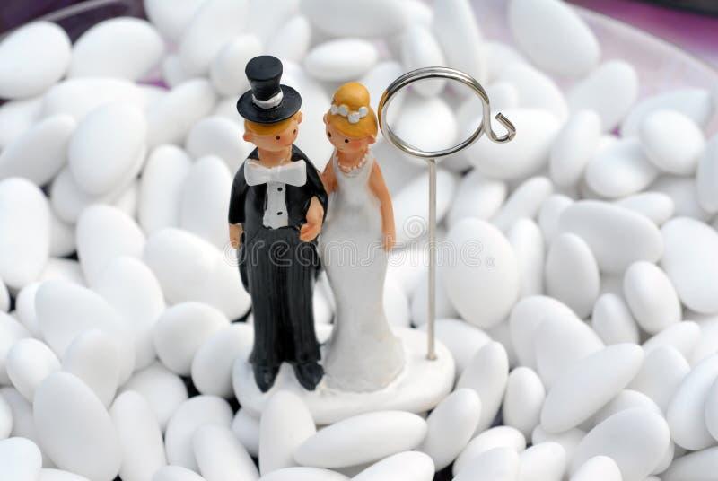 Boneca do casamento imagem de stock royalty free