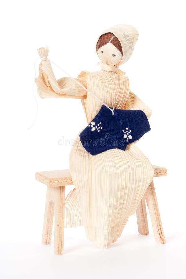Boneca do milho. imagem de stock royalty free