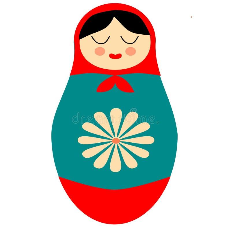 Boneca do russo de Matryoshka fotos de stock