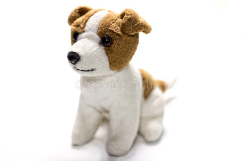 Boneca enchida do cão fotografia de stock