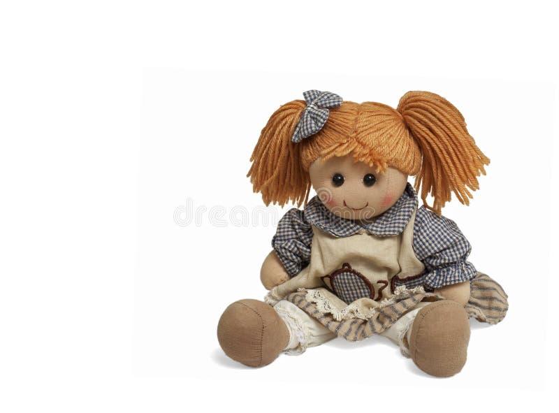 Boneca engraçada encantadora imagens de stock