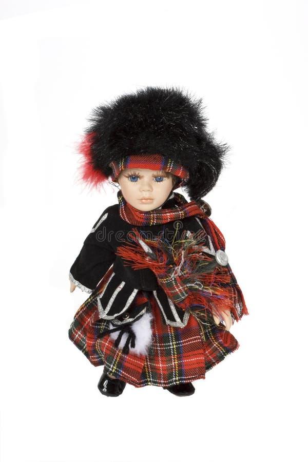 Boneca escocesa foto de stock royalty free