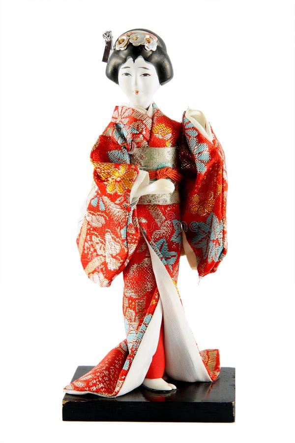 Boneca fêmea de Japão imagens de stock royalty free