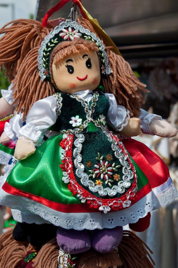 Boneca húngara foto de stock
