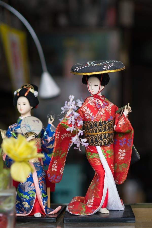 Boneca japonesa imagens de stock