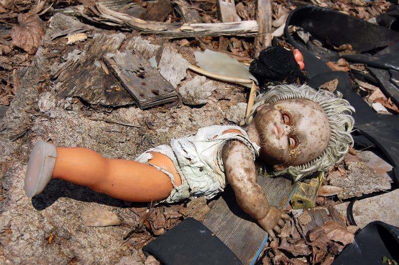 Boneca nuclear. imagens de stock