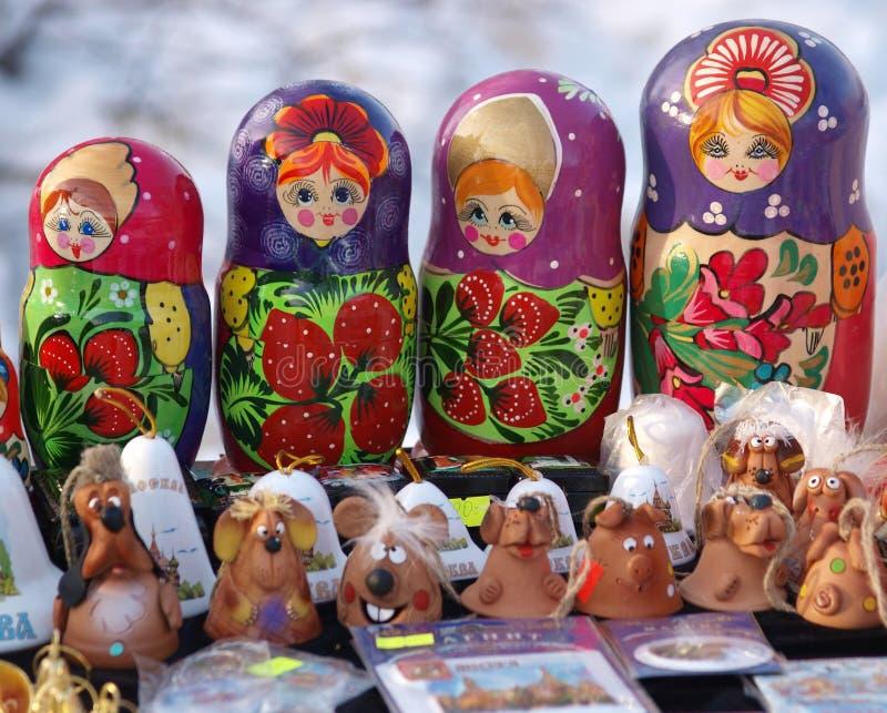 Bonecas aninhadas fotografia de stock