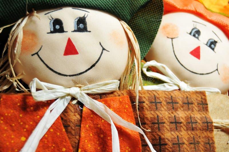 Bonecas de Halloween foto de stock royalty free