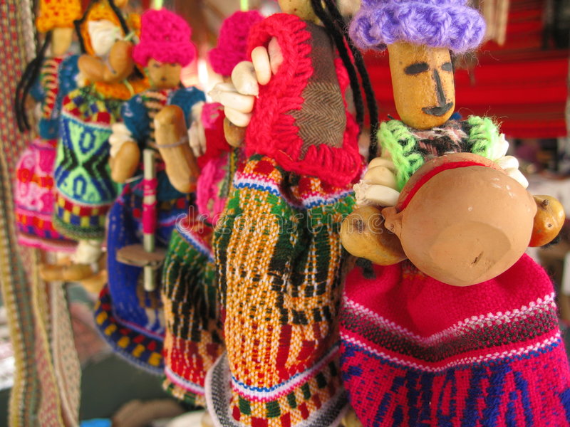 Bonecas de Maiz fotos de stock royalty free
