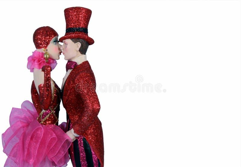 Bonecas do Natal foto de stock royalty free