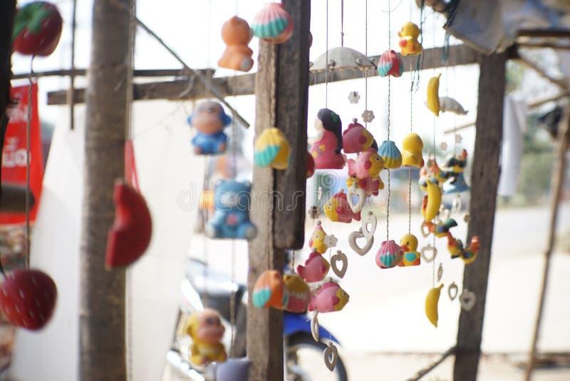 Bonecas móveis imagens de stock