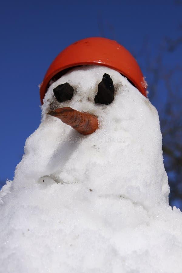 Download Boneco de neve foto de stock. Imagem de arte, potenciômetro - 12809254