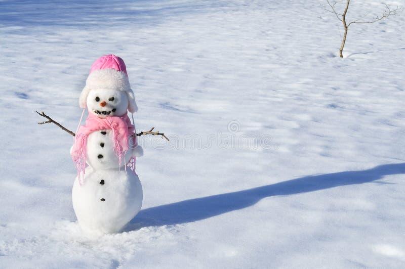Boneco de neve imagens de stock royalty free