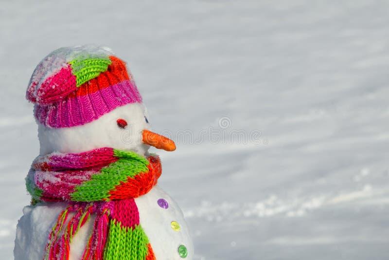 Boneco de neve l imagens de stock