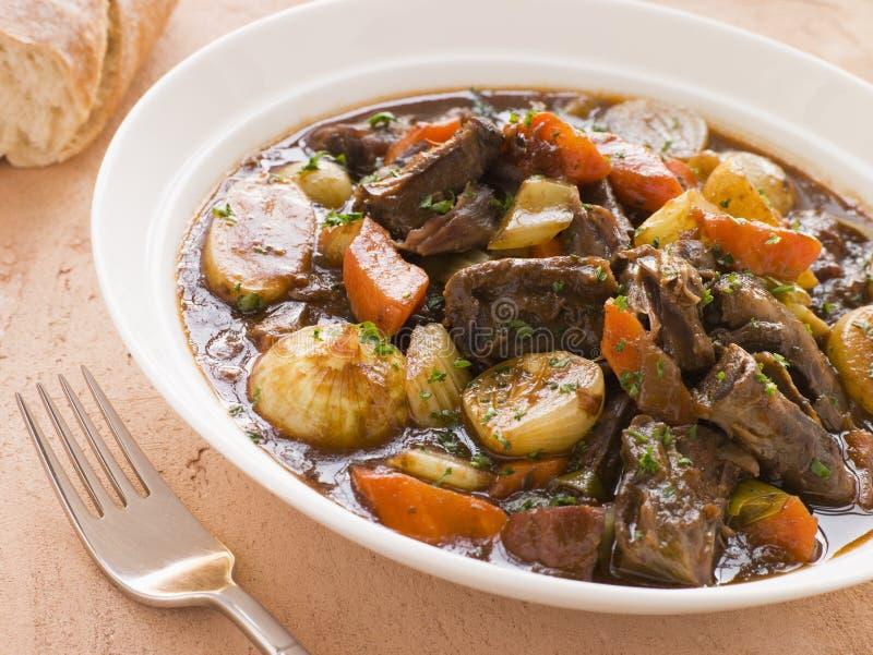 boneless stew toro för de oxtail potatisrabo royaltyfria bilder