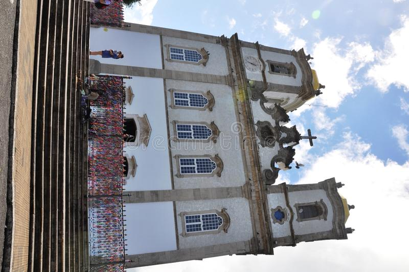 Bonfim kyrka arkivfoton