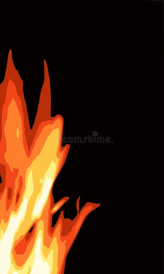 bonfire ilustração royalty free