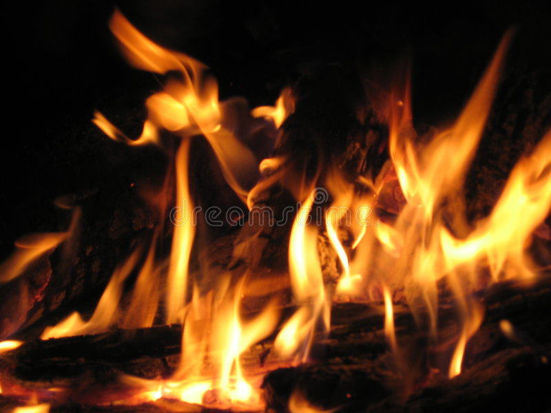Download Bonfire stock image. Image of bonfire, warmth, logs, heat - 278107