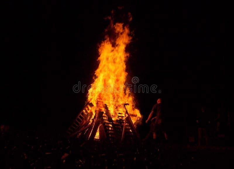 bonfire fotografia de stock royalty free