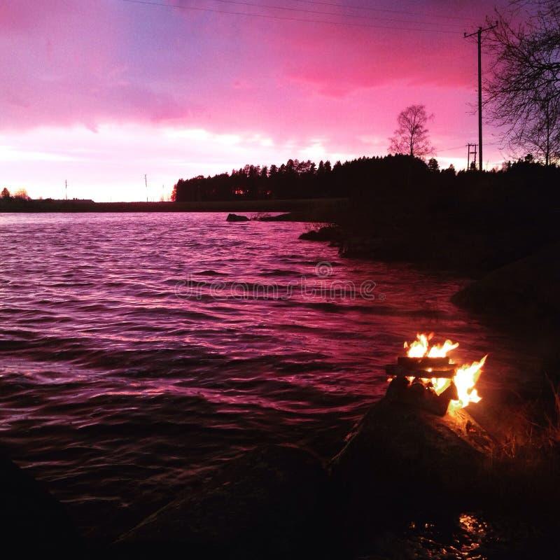 bonfire foto de stock