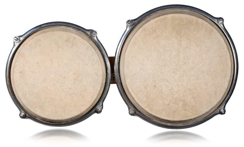 Bongo drums - Top View stock image