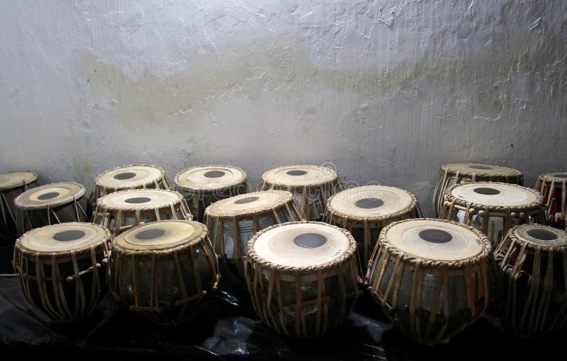 Bongoen trummar royaltyfri bild