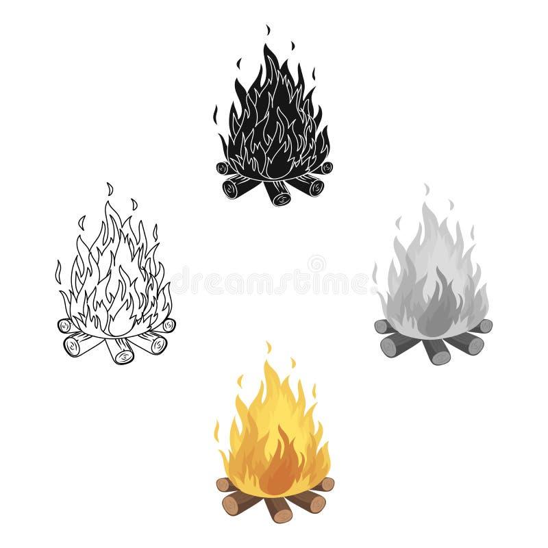 bongos Ενιαίο εικονίδιο σκηνών στα κινούμενα σχέδια, μαύρος Ιστός απεικόνισης αποθεμάτων συμβόλων ύφους διανυσματικός απεικόνιση αποθεμάτων