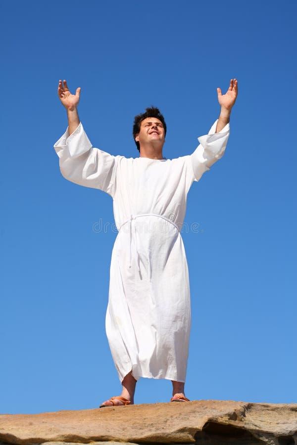 Bonheur d'éloge de culte photos stock