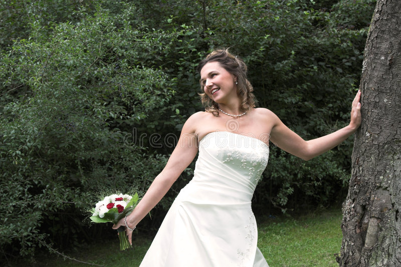 Bonheur nuptiale image stock